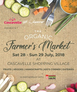 1st Organic Farmer's Market of Mauritius at Cascavelle