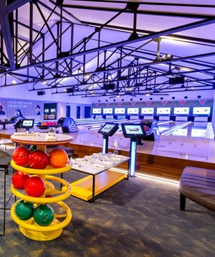 A new bowling alley now open at Cascavelle Shopping Village